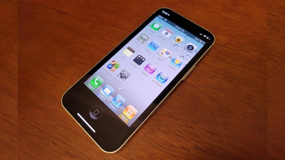 A young developer recreates iOS 4 in an application