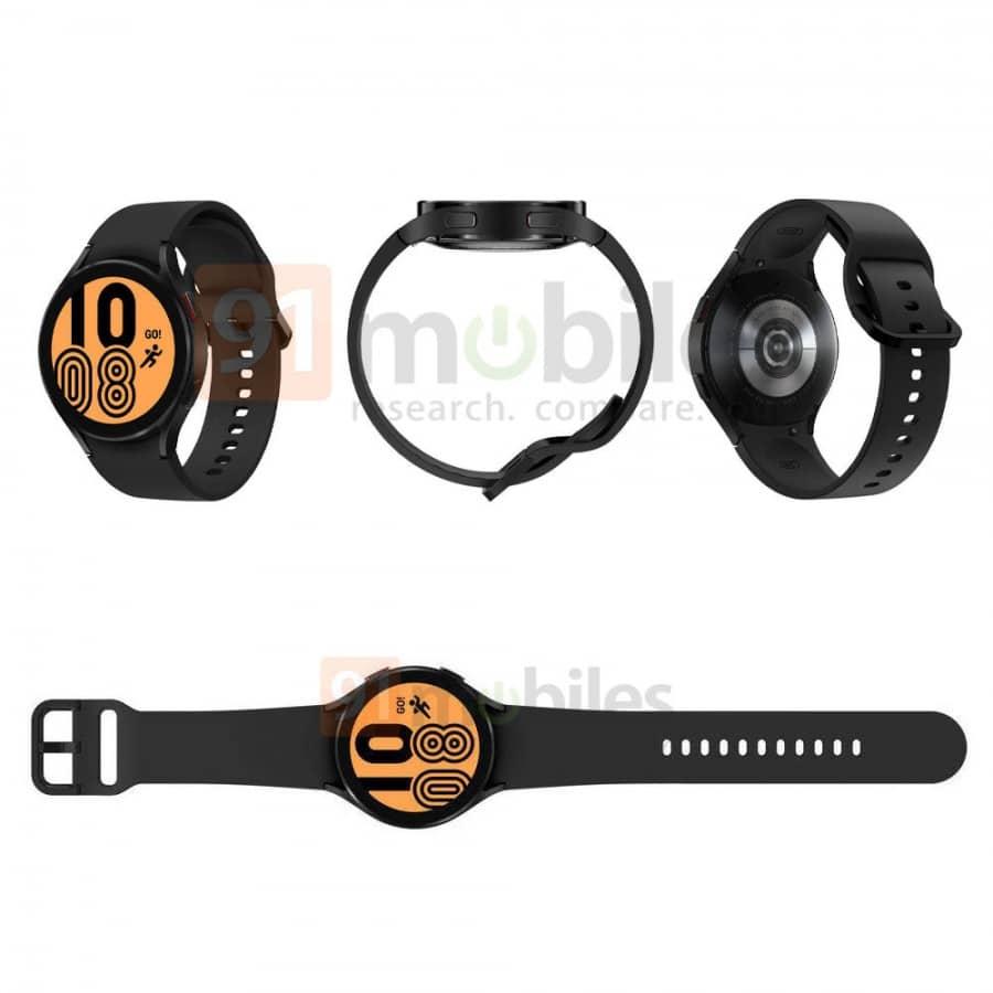 Samsung Galaxy Watch 4 designs