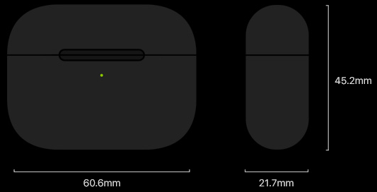 AirPods Pro height and weight