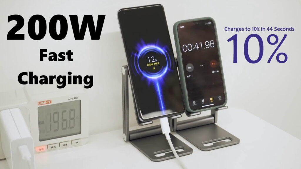 Xiaomi and 200W fast charge